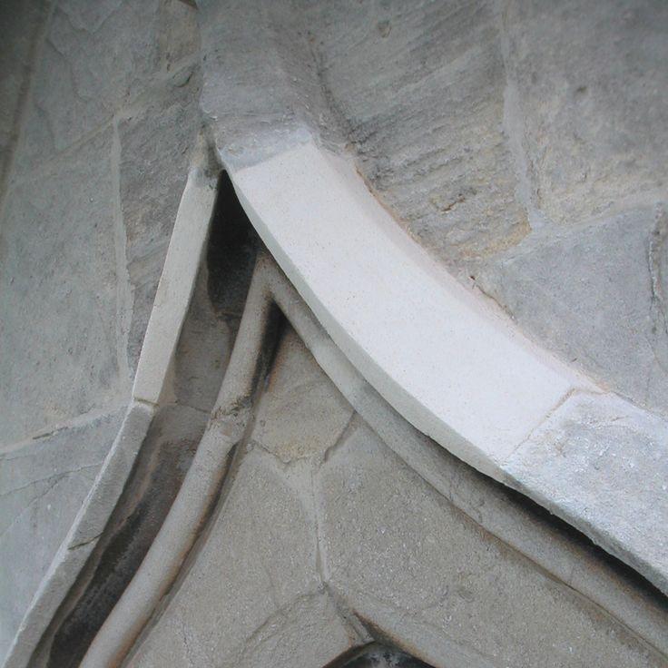 In situ plastic #repair to #stone hood mould