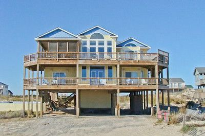 19 best carova nc vacation rentals images on pinterest for Beach house plans outer banks