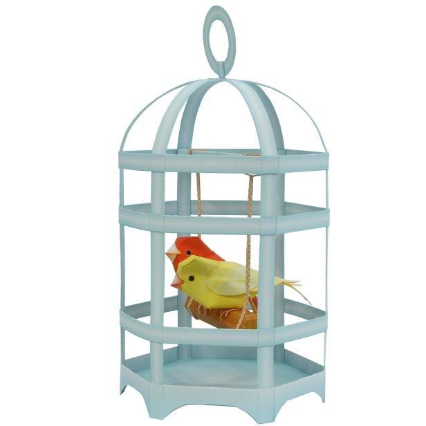 Bird Cage : Canary,Animals,Paper Craft,bird cage,Swings ,Healing,bird,canary