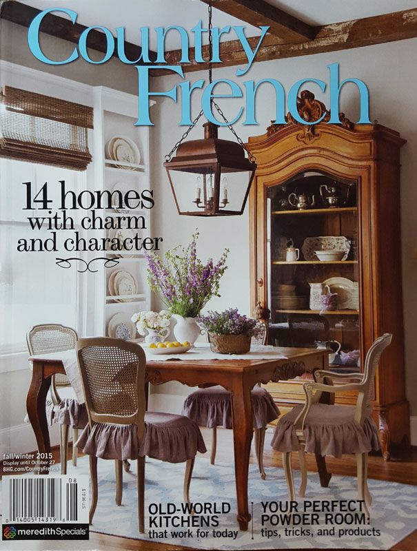 Best 25 french decor ideas on pinterest french home for French country magazine online