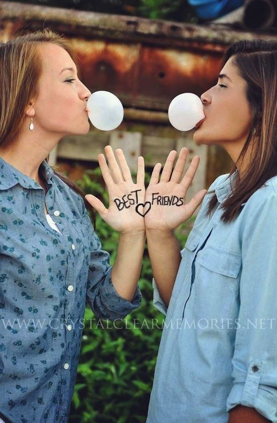 37 Fun Best Friend Photo Ideas- bahaha we might need some of these in our life