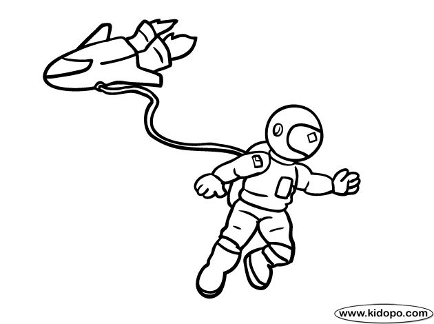 13 best space shuttles coloring pages images on pinterest | space ... - Astronaut Coloring Pages Printable