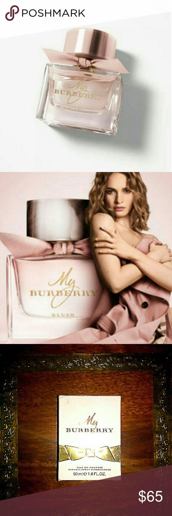 My Burberry Blush Eau De Parfum 50ml 1.6 FL.OZ My Burberry Blush Eau De Parfum 50ml 1.6 FL.OZ new in box sprayed once Burberry Makeup