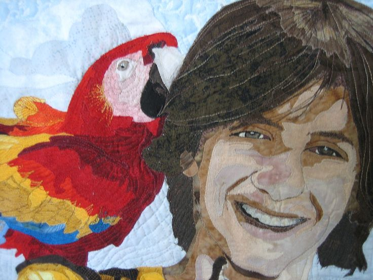 Mitchell's Awesome Mexican Adventure - a closeup - made by Faith McLeod