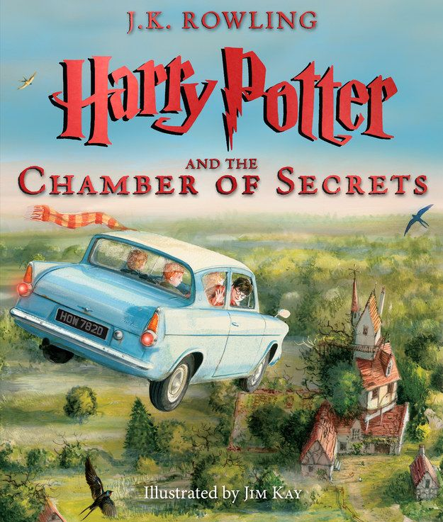 """Now we have the first look at Harry Potter and the Chamber of Secrets, exclusively on BuzzFeed.   Here's The Book Cover For The Fully Illustrated """"Harry Potter And The Chamber Of Secrets"""""""