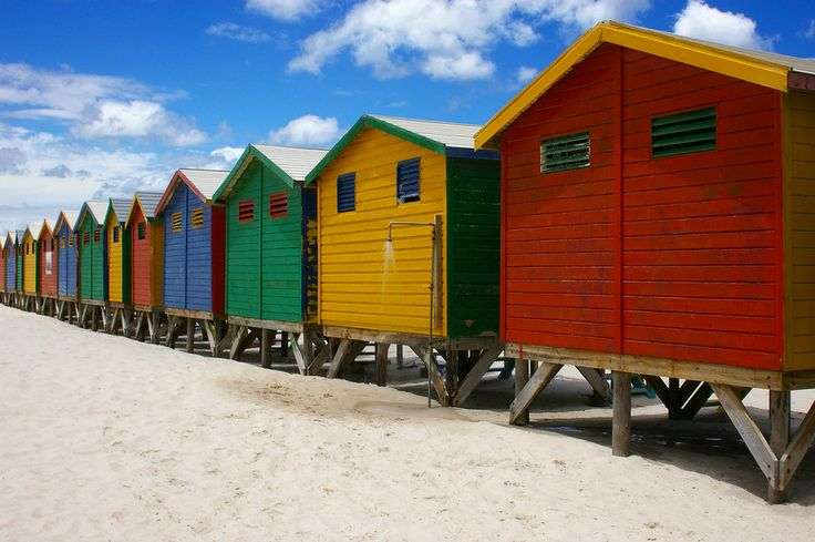 Beach Huts by Barry Barclay on 500px