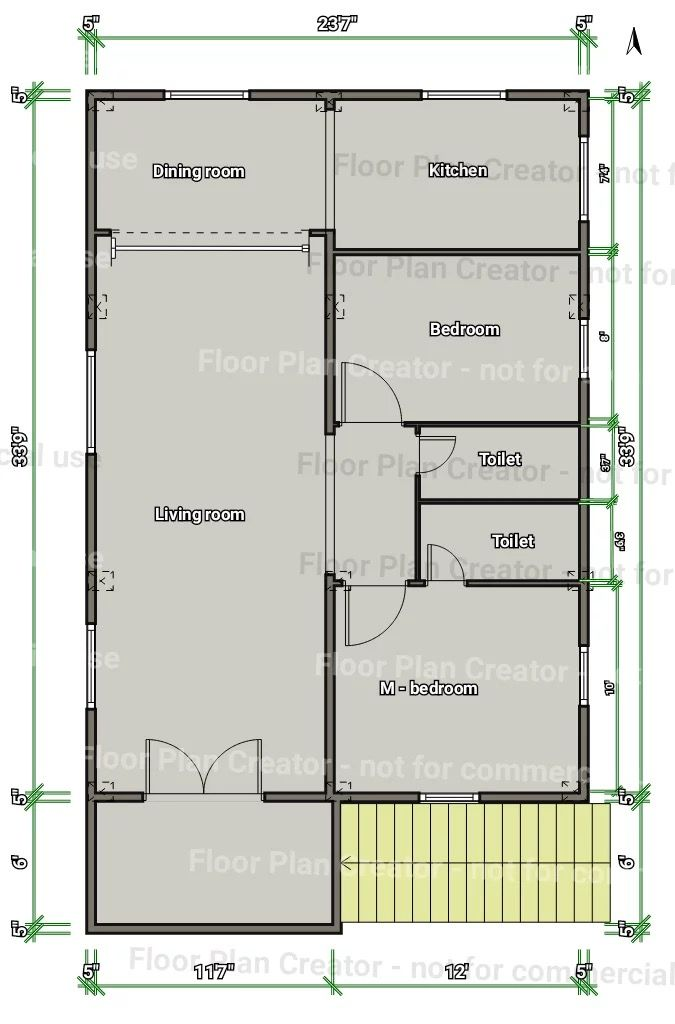 27 42 1st Floor 2bhk House Plan Square House Plans Simple
