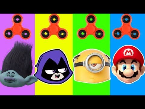 Wrong Heads Despicable Me 3 Gru Trolls Teen Titans Go Minions in Jail Super Finger Family Song Kids