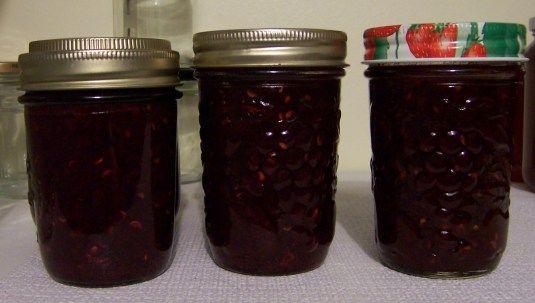 Saskatoon Rhubarb Jam