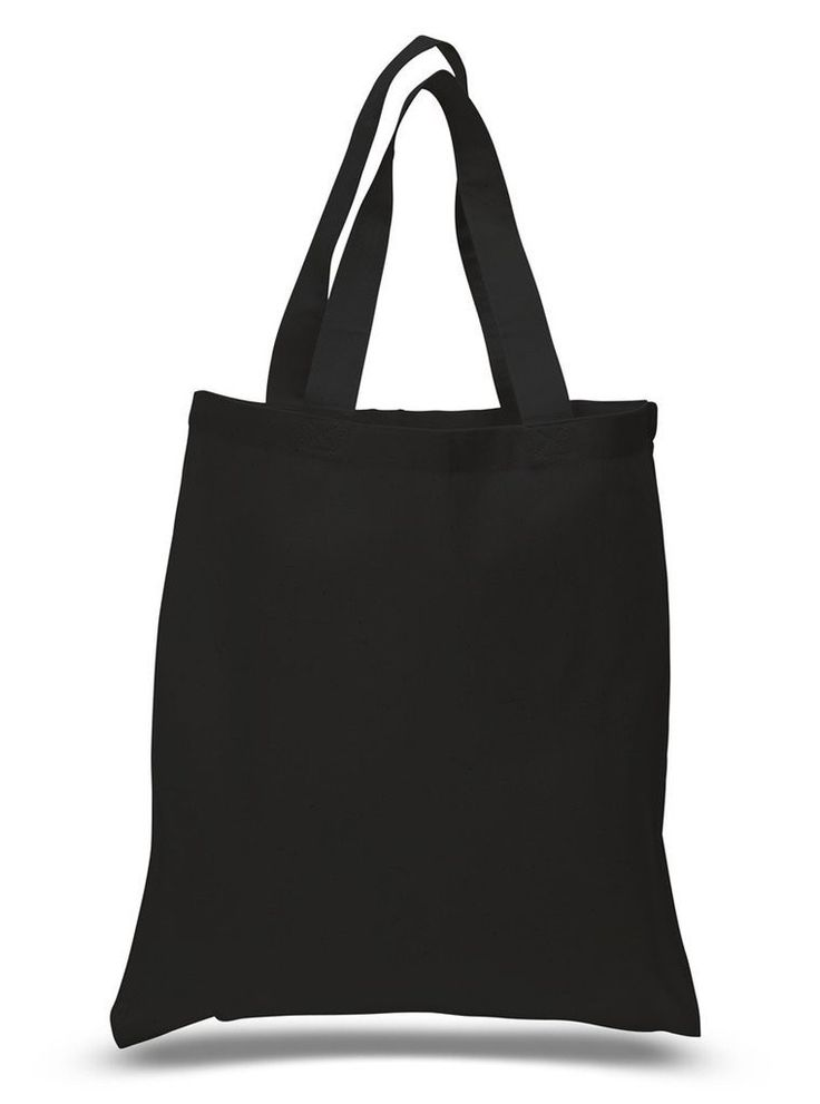 Economical 100% Cotton Reusable Grocery Plain Tote Bags
