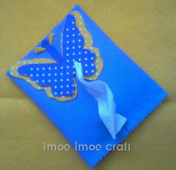 Tissue wallet <3 felt