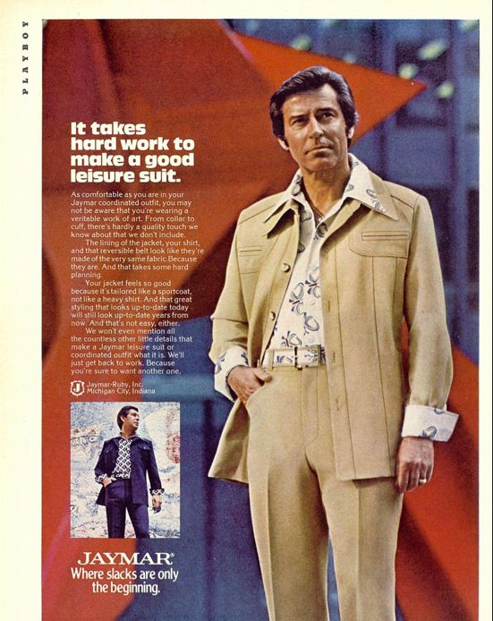 Fashion For Men From The 1970s Babycenter