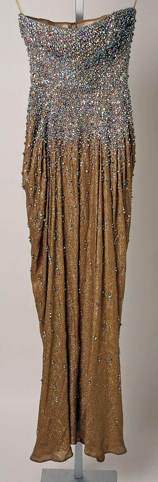 "The Metropolitan Museum of Art - ""Aurora Borealis"" by James Galanos 1959 AMERICAN"