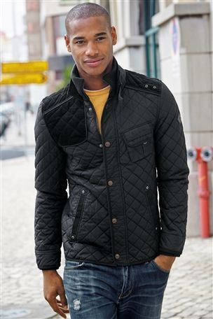 Buy Cotton Quilted Jacket from the Next UK online shop
