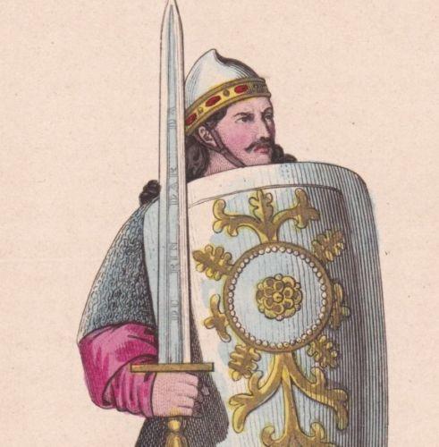 chanson-de-Roland-Roncevaux-Pyrenees-Paladin-Costume-Militaire-Xe-siecle