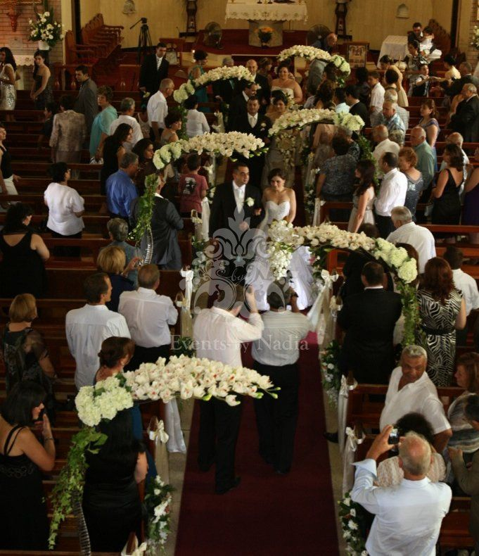 Flowers For Church Wedding Ceremony: 29 Best Church Weddings Decorations Images On Pinterest