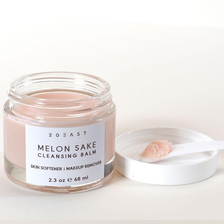 Melon sake cleansing balm