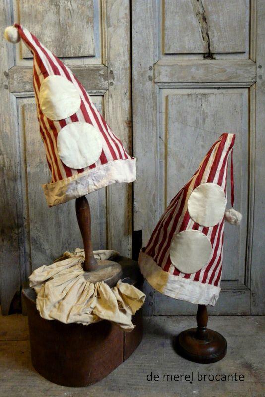 antique clown hats