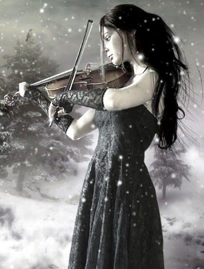 Gothic violin | Fantasy art | Pinterest | Violin, Gothic ...