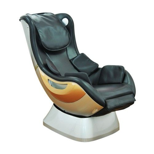 HomCom Electric Full Body Shiatsu Massage Chair - Black - Gift For Health&Beauty