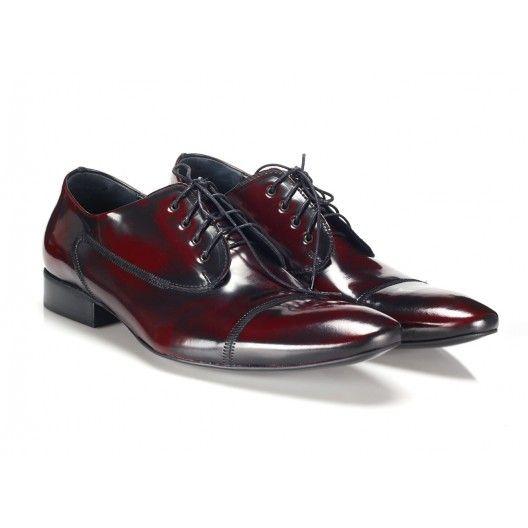 Pánska kožená spoločenská obuv COMODO E SANO - fashionday.eu