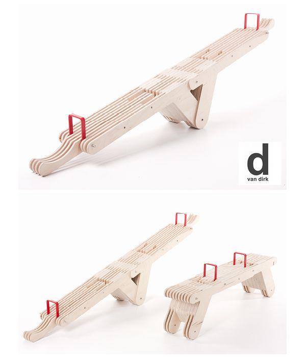 See Saw SEAT van Dirk Ploos van Amstel (beter bekend als DvanDirk) #dutchdesign op www.moodkids.nl