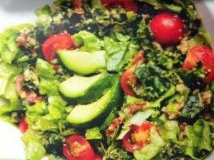 Recept på nyttig grönkalssallad