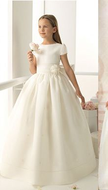 Cheap dress vintage, Buy Quality dress patterns prom dresses directly from China dresses for the elderly Suppliers:    novo da Sweety Summer Rosette Hochzeit BlumenmaedchenKleid Vestido cintura flores Robe de Communion Flower Girl Dress