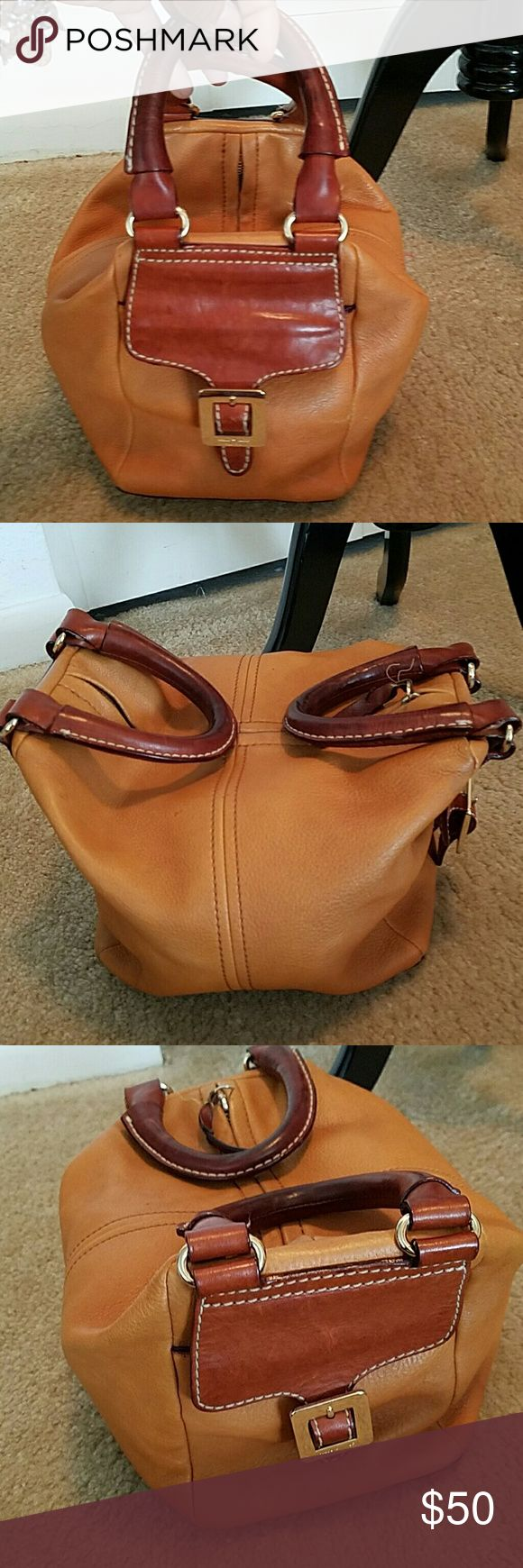 Rare KATE SPATE Leather Satchel Handbag Pre owned in great condition.  Leather does show some light wear.  Inside is clean. kate spade Bags Satchels