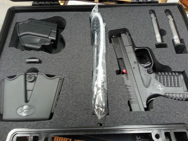 Springfield XDS in 9mm and 45ACP with accessory pack. On sale $525!
