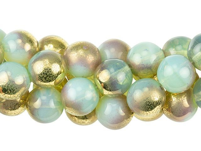 Round smooth pearls Clear Transparent Czecho Beads Bohemian Glass Beads 10mm Glass beads