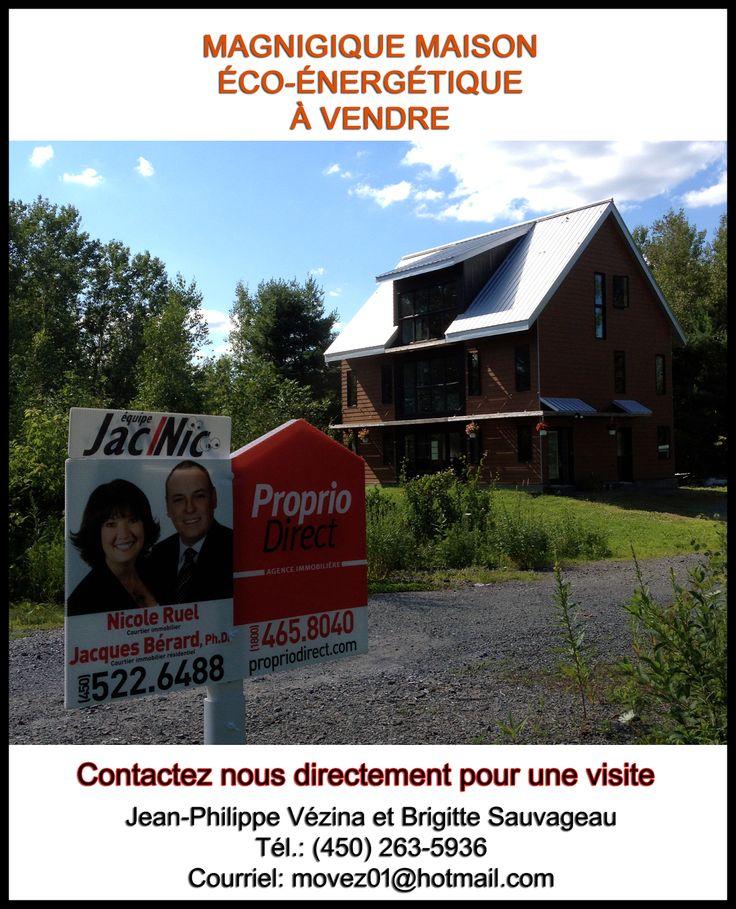 Maison ecologique a vendre a Cowansville http://projetjasmine.blogspot.ca/p/achetez-cette-maison.html