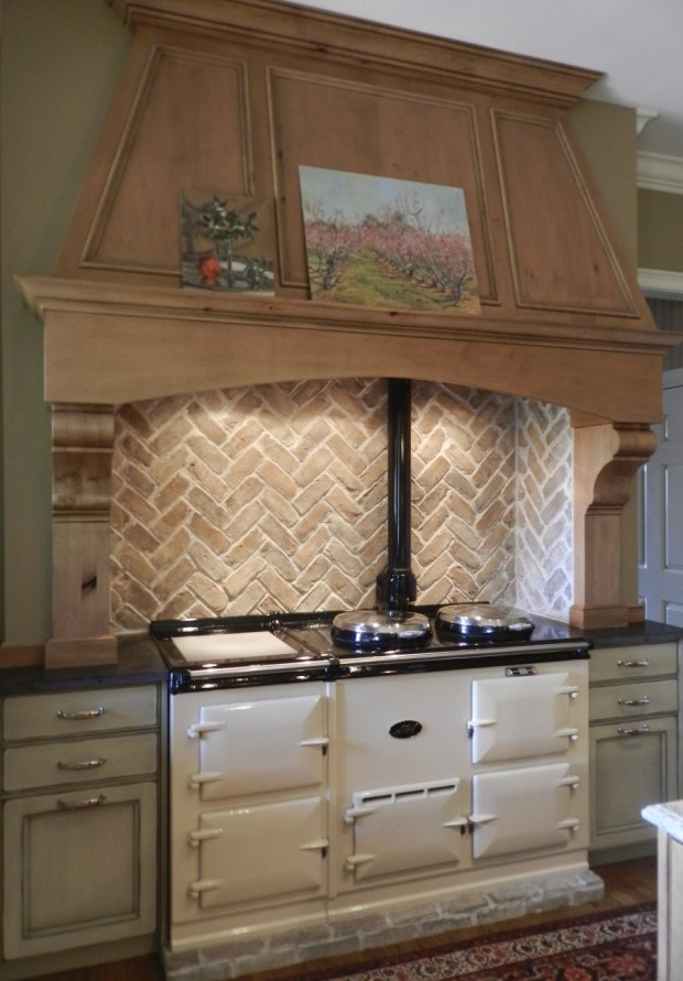 My kitchen will be complete when I have an AGA stove.