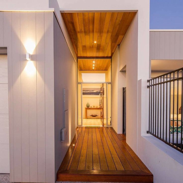 It's all about making an entrance The clean lines of Scyon Axon give this entrance from @proliving_design_construct a modern edge! #moderndesign #contemporarydesign #modernhouse #homedesign #houselove