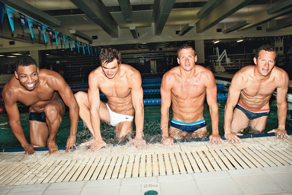 Olympic swimmers. GOD BLESS THE USA. YUM.