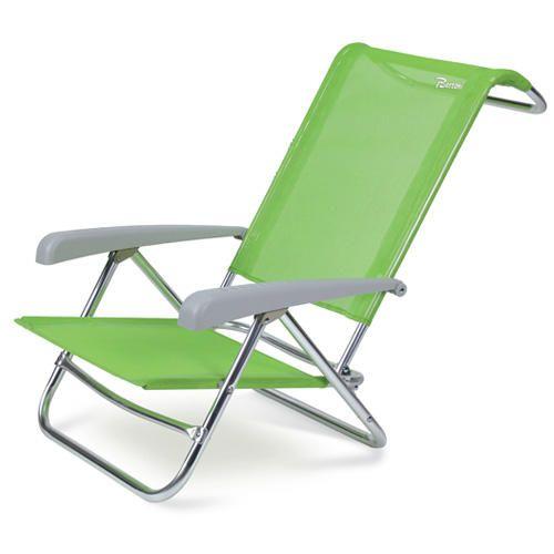 #Sedia sdraio spiaggina in alluminio con  ad Euro 49.00 in #Bertoni #Campeggio e outdoor lettini