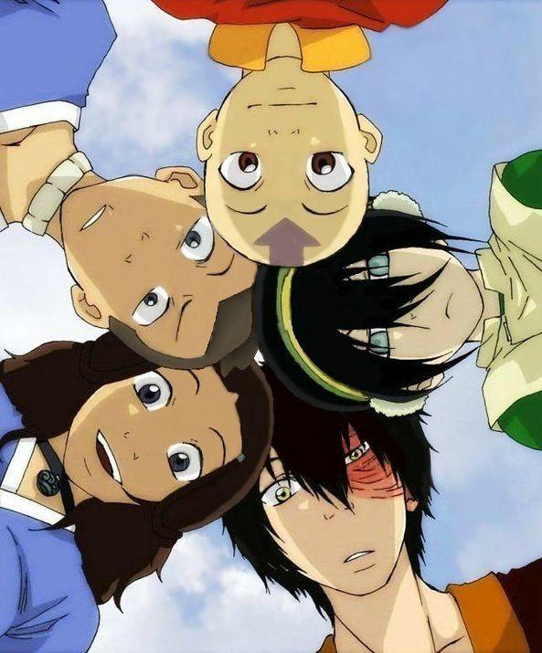 Avatar: The Last Airbender Aang, Zuko, Toph Bei Fong, Katara, Sokka