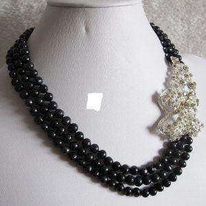 10 collares de moda negros (5)