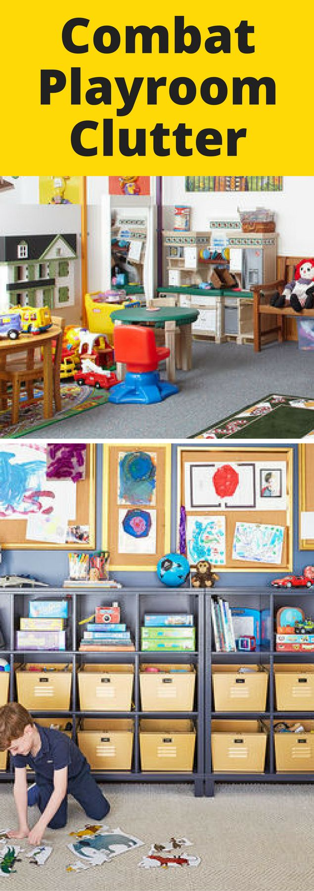 Childrenu0027s Bedrooms And Playrooms Are Often Home To A Cluttered Collection  Of Toys, Movies, Nice Ideas