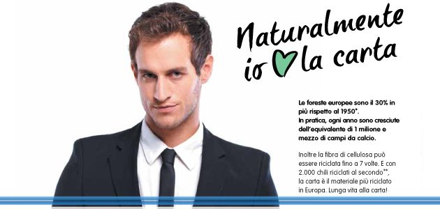 I Giornali amano la carta - Al via una campagna di sensibilizzazione sul riciclaggio