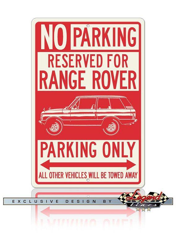 Aucun signe de stationnement ne réservé pour Range par LegendLines
