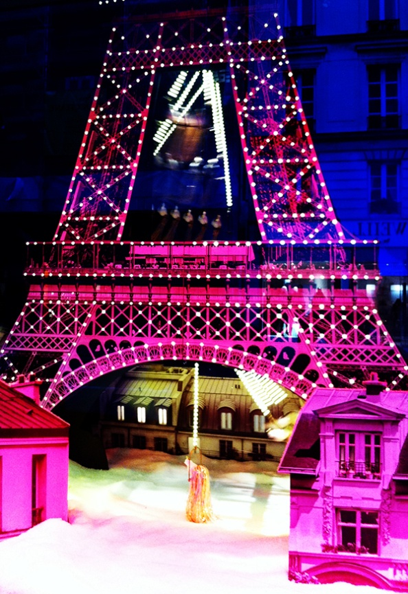 #Paris - Le Bon Marché - #Vitrine