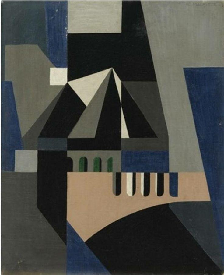 René Magritte - Vie Nocturne (Night Life), 1923.