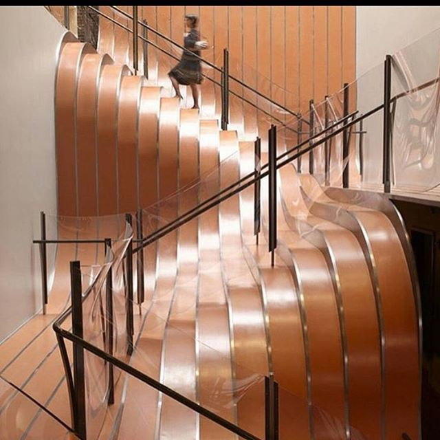 Amazing staircase - INSPIRATION - DESIGN I LIKE #CASACHRISTINA #design #fashion #furniture #architecture #interior #house #office #bathroom #light #lamps #texture #fabric #ceramic #copenhagen #classic #interior-design #design #modern #chairs #tables #kitchen #pool #wood #glass #steel #scandinavian-design #color #wall-paper #restaurants #stairs