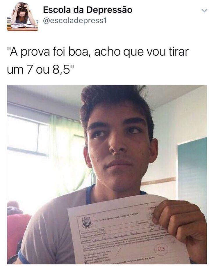 """26.5 mil curtidas, 1,065 comentários - Escola da Depressão (@escoladadepressao) no Instagram: """"Me lasquei."""""""