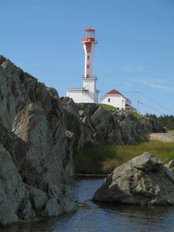 Cape Forchu Lighthouse, Yarmouth, Nova Scotia
