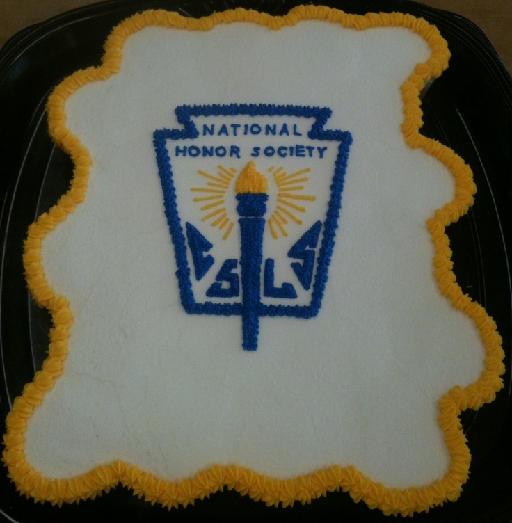 National Honor Society Cupcake Cake Logo Cakes