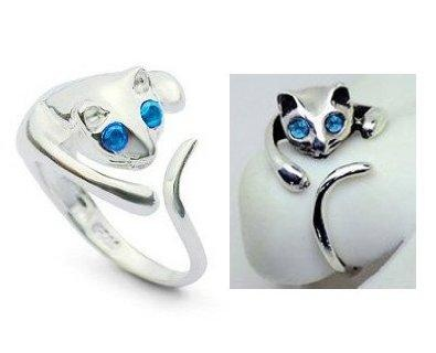 I found 'Adjustable Cat Ring' on Wish, check it out!