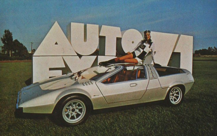 Porsche Tapiro by ItalDesign (1970) at Auto Expo '71. this car needed it's own tv show.