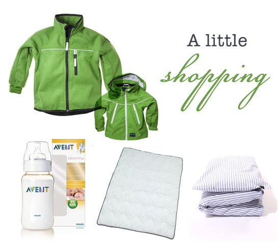 some shopping for a 1-year old